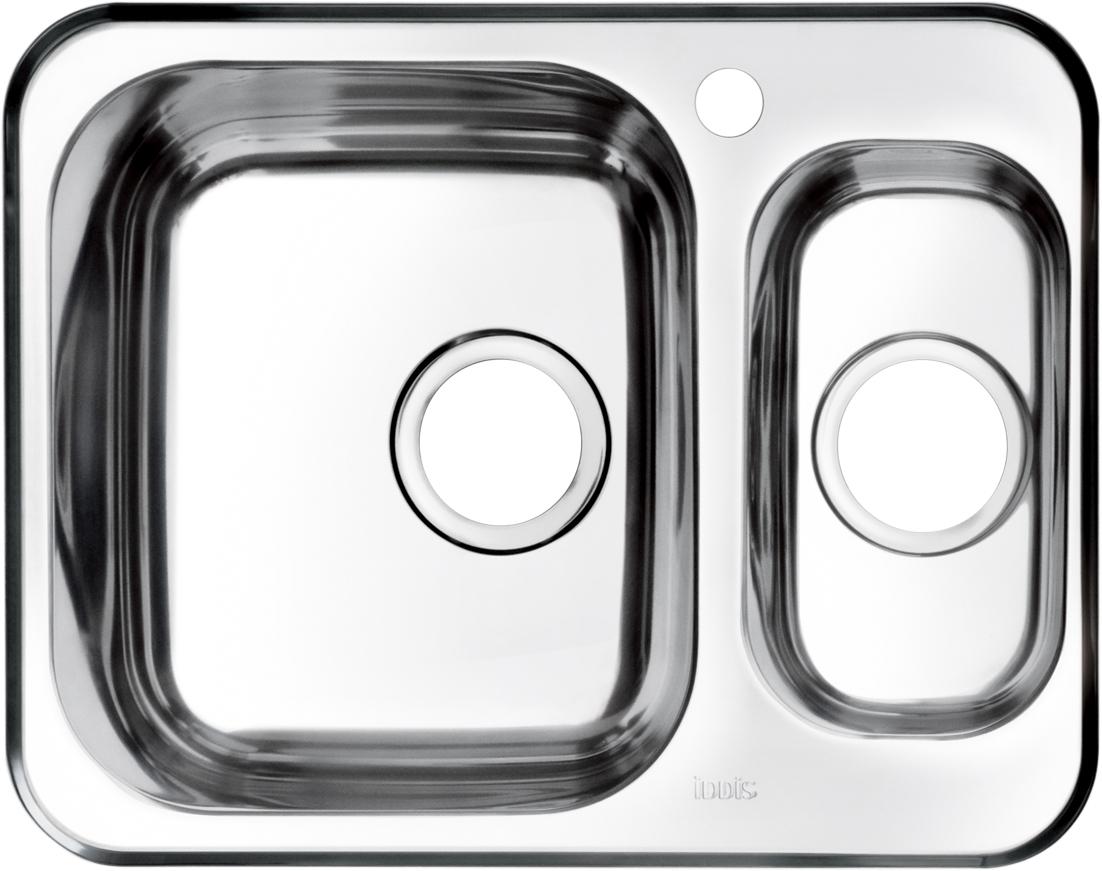 Мойка Iddis Strit, 1, 1/2, чаша справа, 60,5 х 48 см. STR60SZi77STR60SZi77Корпус мойки Iddis Strit выполнен из специальной нержавеющей стали марки 304 с содержанием хрома 18%, и никеля 10%. Это гарантирует устойчивость к воздействию химических веществ, появлению пятен и коррозии. Толщина стали в мойке 0,8 мм. Специальное дополнительное антишумовое покрытие Silenon, нанесенное на обратную сторону чаш, разработано для снижения шума воды в мойке.Конструкция краев мойки, крепления и специальная уплотнительная прокладка обеспечивает максимально плотное прилегание к столешнице и защищает от протекания. Мойка из нержавеющей стали Iddis имеет изготовленное на заводе отверстие под смеситель, что делает ее полностью готовой к установке. Наличие шаблона для выреза отверстия в столешнице для каждой модели облегчает процесс установки моек Iddis.Гарантия на мойки из нержавеющей стали Iddis составляет 15 лет.Глубина чаш: 180 и 125 мм, размер чаш: 330 х 380 и 300 х 162 мм.