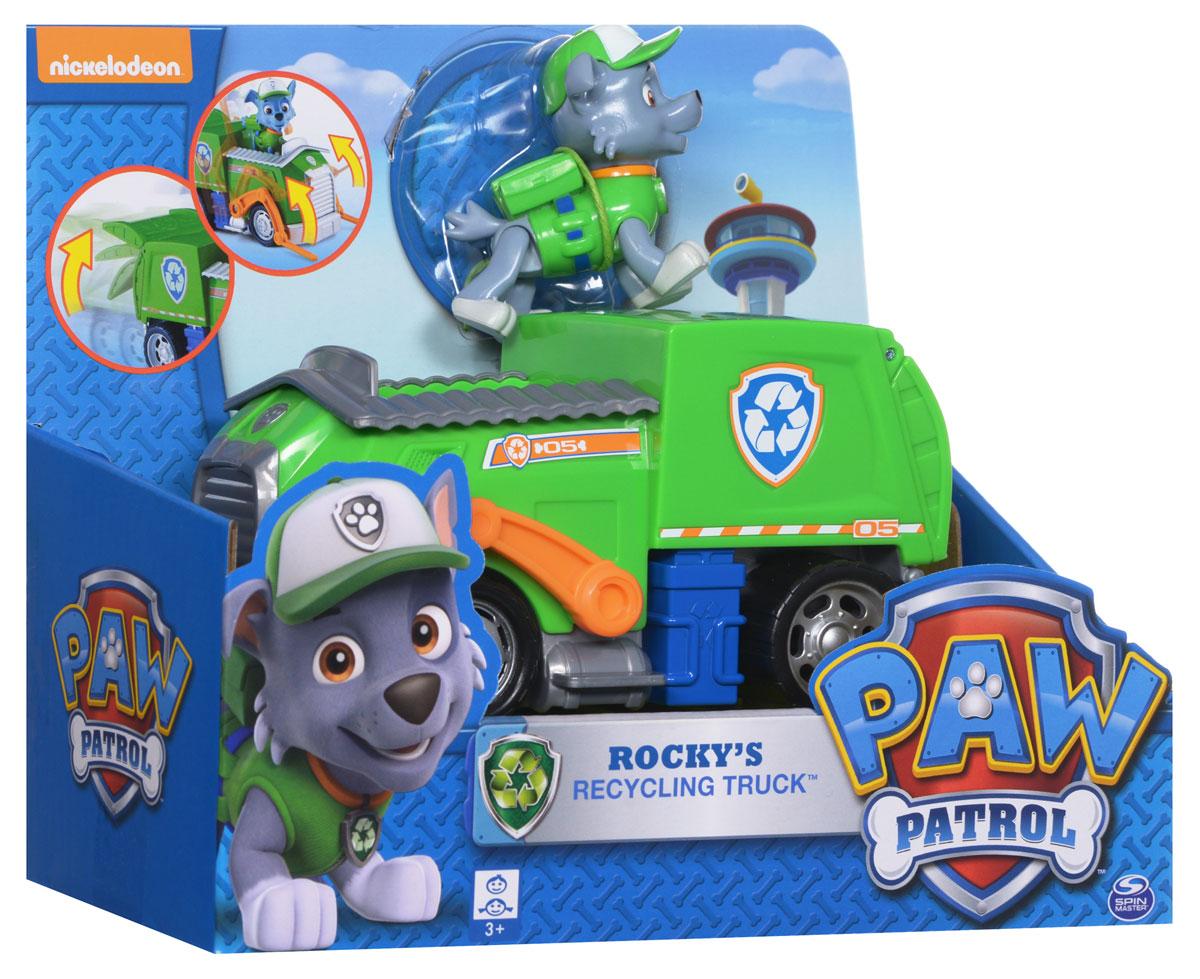Paw PatrolИгровой набор Мусоровоз спасателя и щенок Рокки