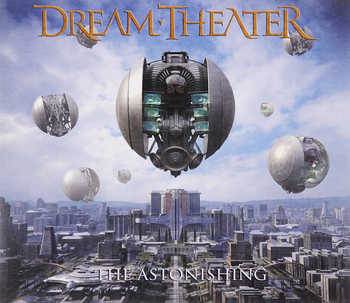 Dream Theater Dream Theater. The Astonishing (2 CD) the theater experience w cd rom