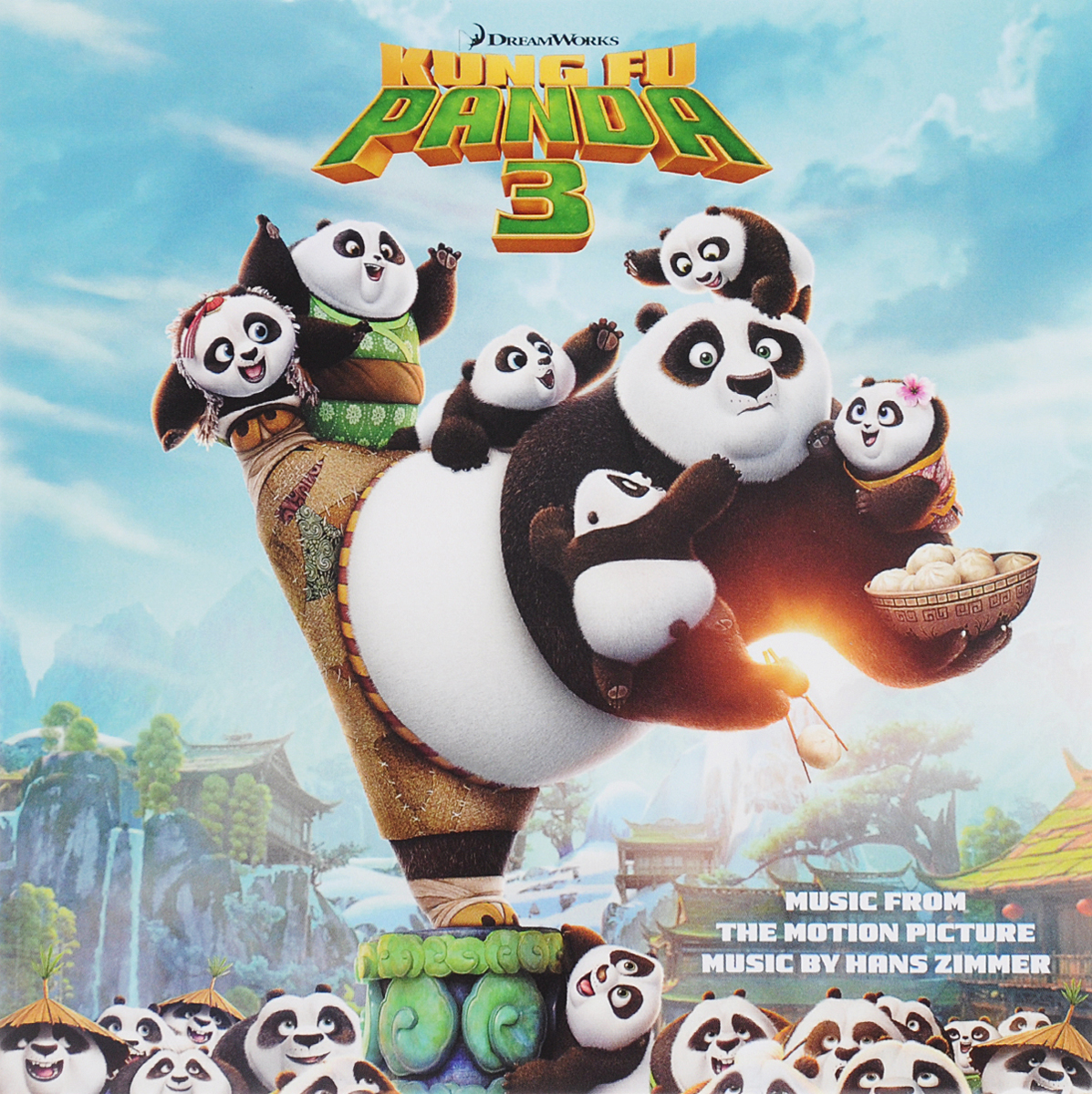 Kung Fu Panda 3. Music From The Motion Picture. Music By Hans Zimmer hans zimmer the thin red line original motion picture soundtrack