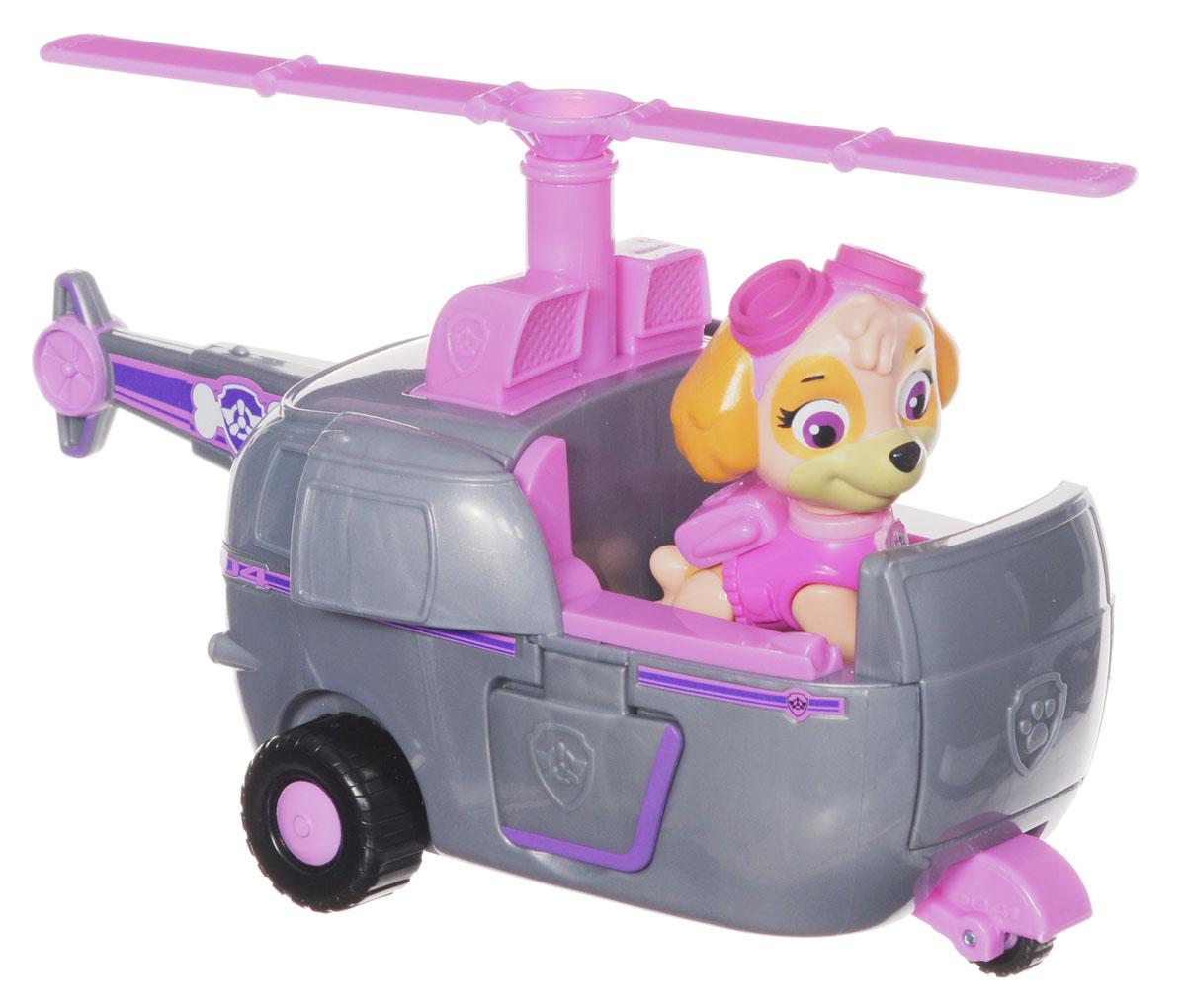 Paw Patrol Игровой набор Вертолет спасателей и щенок Скай игровой набор paw patrol вертолет и щенок скай 2 предмета 16601