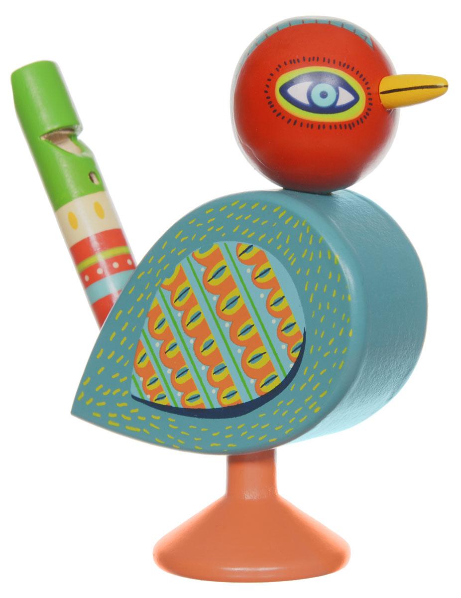 Djeco Музыкальный инструмент Свистулька музыкальный инструмент детский doremi синтезатор 37 клавиш с дисплеем