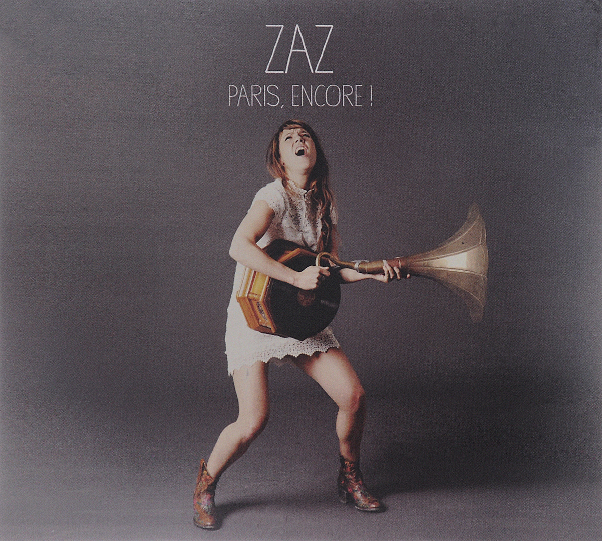 Zaz Zaz. Paris, Encore! (CD + DVD) cd диск zaz paris 1cd cyr