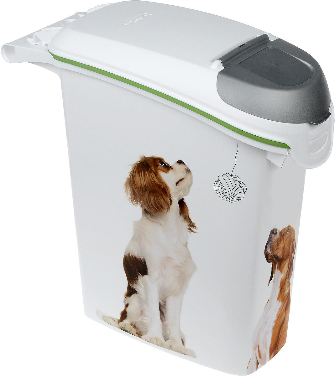 Контейнер Curver Pet Life. Лабрадор для хранения сухого корма, 23 л туалет для кошек curver pet life закрытый цвет кремово коричневый 51 х 39 х 40 см