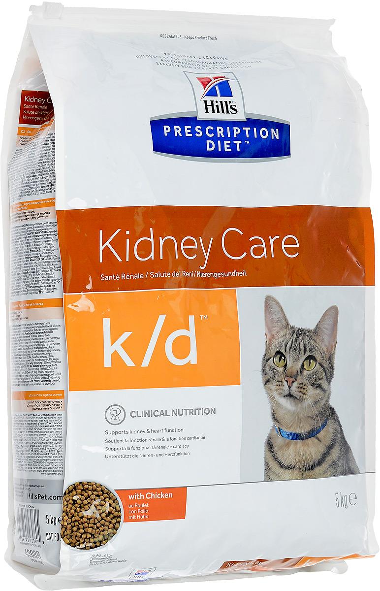 Корм сухой Prescription Diet Kidney Care для взрослых кошек, для поддержания функции почек и сердца, с курицей, 5 кг11163_дизайн 2Сухой корм Prescription Diet Kidney Care - полноценный диетический рацион для поддержания функции почек при хронической и временной почечной недостаточности у кошек. Содержит пониженный уровень фосфора и оптимальный уровень протеина высокой биологической ценности.Особенности корма Prescription Diet Kidney Care: - контролируемый уровень протеина высокого качества предотвращает токсическое расщепление продуктов обмена, что вызывает негативные клинические признаки;- добавление Омега-3 жирных кислот из рыбьего жира способствует улучшению кровотока в почках;- помогает нейтрализовать действие свободных радикалов за счет высокого содержания антиоксидантов;- обеспечивает превосходный вкус и возможность смешивания сухого и влажного рациона для разнообразия рациона вашей кошки.Сухой корм Prescription Diet Kidney Care помогает продлить и значительно улучшить качество жизни животных, снижая прогрессирование клинических признаков.Состав: злаки, экстракты растительного белка, масла и жиры, мясо и производные животного происхождения.Источники протеина: мука из кукурузного глютена, мука из мяса птицы, сухое цельное яйцо.Пищевая ценность: белок 27,9%, жир 22,0%, незаменимые жирные кислоты 4,1%, клетчатка 1,6%, зола 4,8%, кальций 0,74%, фосфор 0,45%, натрий 0,27%, калий 0,69%, магний 0,06% %; на 1 кг: витамин Е 550 мг, витамин С 90 мг, бета-каротин 1,5 мг, таурин 2 145 мг.Добавки на 1 кг: Е 672 (витамин А), 37690 МЕ, Е 671, (витамин D3), 1 980 МЕ, Е1 (железо) 132 мг, Е2 (йод) 2,0 мг, Е4 (медь) 16,8 мг, Е5 (марганец) 5,8 мг, Е6 (цинк) 112 мг, Е8 (селен) 0,3 мг, с натуральным антиоксидантом.Вес: 5 кг.Товар сертифицирован.