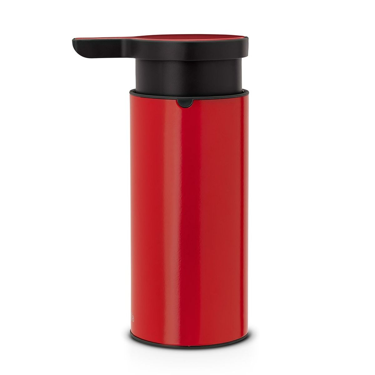 Диспенсер для жидкого мыла Brabantia, цвет: красный106989Стильный аксессуар из коррозионно-стойких материалов по достоинству оценят те, кого заботят вопросы гигиены, и те, для кого важны индивидуальность стиля и красивый дизайн. Красота и функциональность в одном флаконе! И высочайшее качество сверху донизу. Идеальное решение для помещений с повышенной влажностью; Удобное наполнение сверху – широкое отверстие для заправки; Может использоваться для шампуней, лосьонов и т.п.; Перед заправкой дозатора заполните емкость горячей водой и проведите очистку насосного механизма, несколько раз прокачав дозатор; Легко разбирается для проведения тщательной очистки; Широкое основание с противоскользящими свойствами обеспечивает отличную устойчивость; 10 лет гарантии Brabantia.