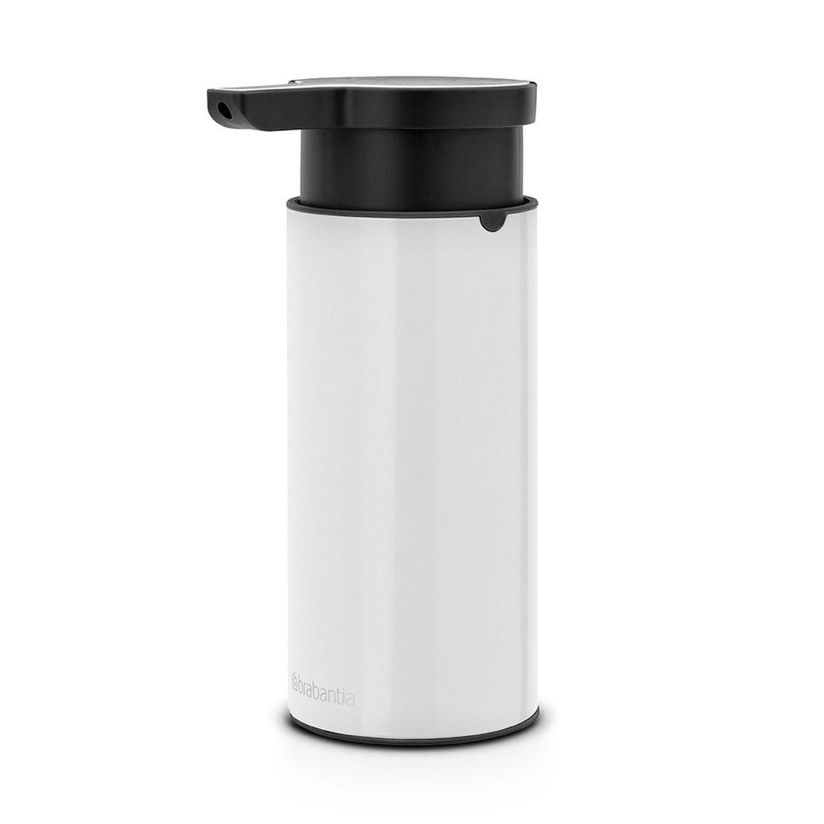 Диспенсер для жидкого мыла Brabantia, цвет: белый диспенсеры кухонные brabantia диспенсер для жидкого мыла красный