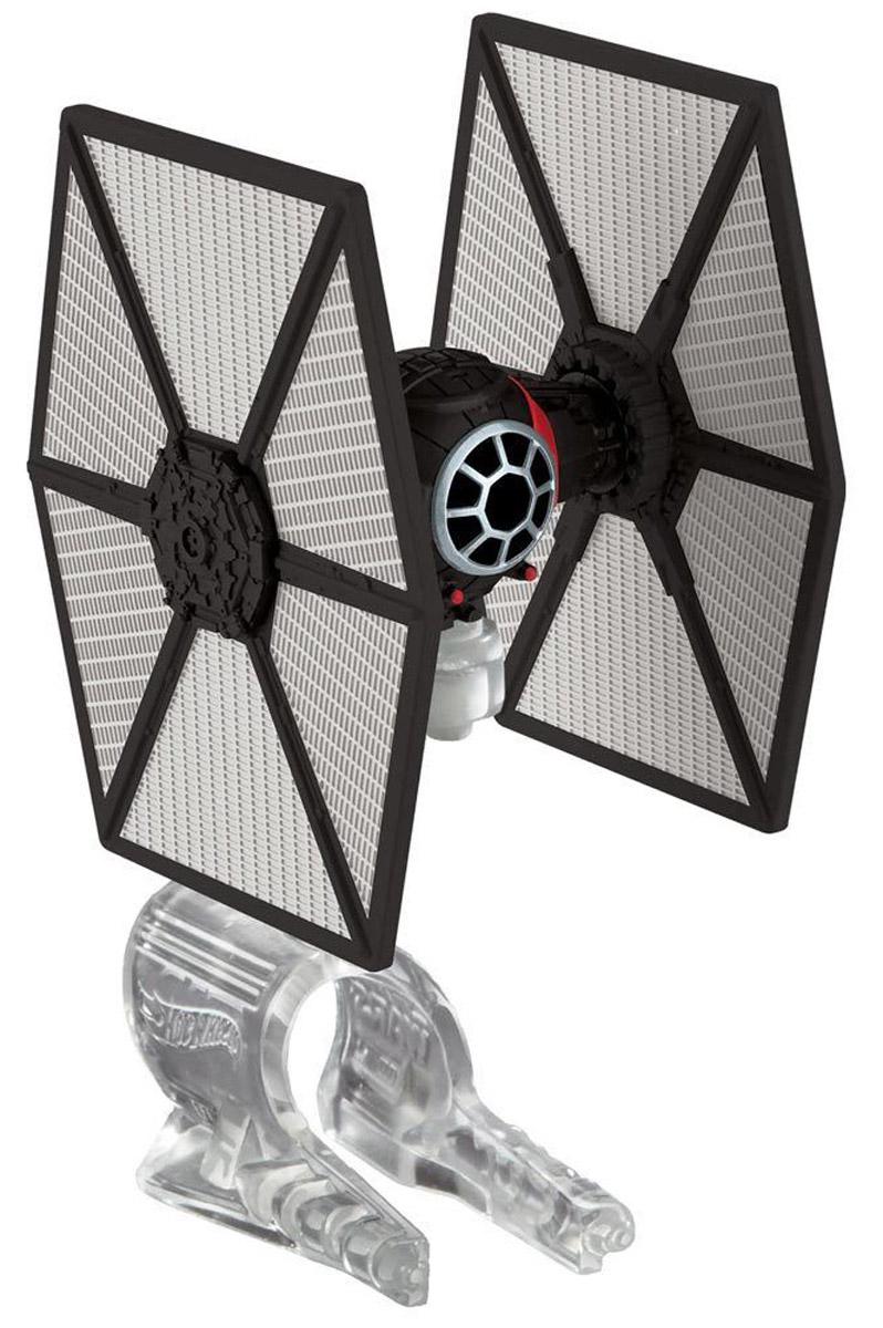Hot Wheels Star Wars Звездный корабль The Fighter цвет черный hot wheels star wars звездные корабли tie fighter vs millennium falcon