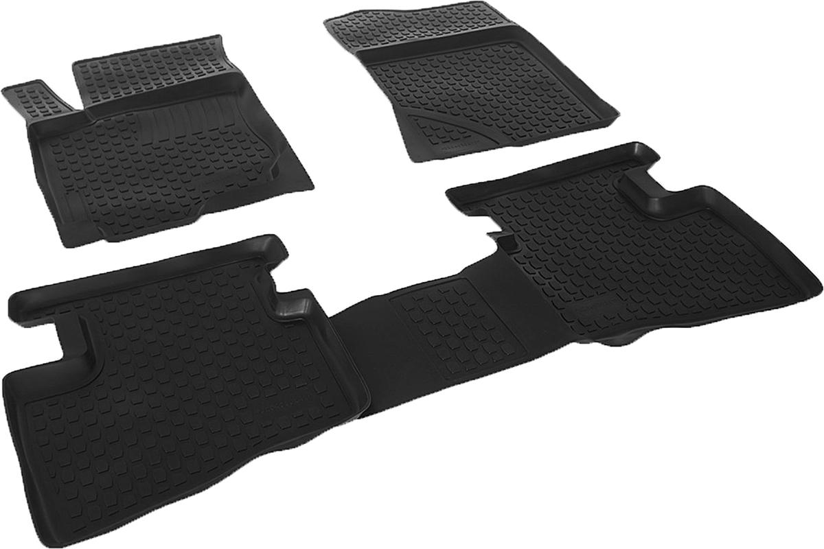 Набор автомобильных ковриков L.Locker для Hyundai Elantra (07-), в салон, 4 шт0204030201Коврики L.Locker производятся индивидуально для каждой модели автомобиля из современного и экологически чистого материала, точно повторяют геометрию пола автомобиля, имеют высокий борт от 3 см до 4 см, обладают повышенной износоустойчивостью, антискользящими свойствами, лишены резкого запаха, сохраняют свои потребительские свойства в широком диапазоне температур (от -50°С до +80°С).