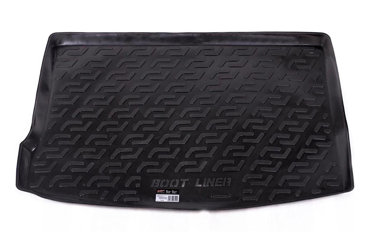 Коврик в багажник L.Locker, для Ford Focus II, цвет: черный0102020801Коврики L.Locker производятся индивидуально для каждой модели автомобиля из современного и экологически чистого материала, точно повторяют геометрию пола автомобиля, имеют высокий борт от 4 см до 6 см. Обладают повышенной износоустойчивостью, антискользящими свойствами, лишены резкого запаха, сохраняют свои потребительские свойства в широком диапазоне температур (от -50°C до +80°С).Коврик предназначен специально для автомобиля Ford Focus II.
