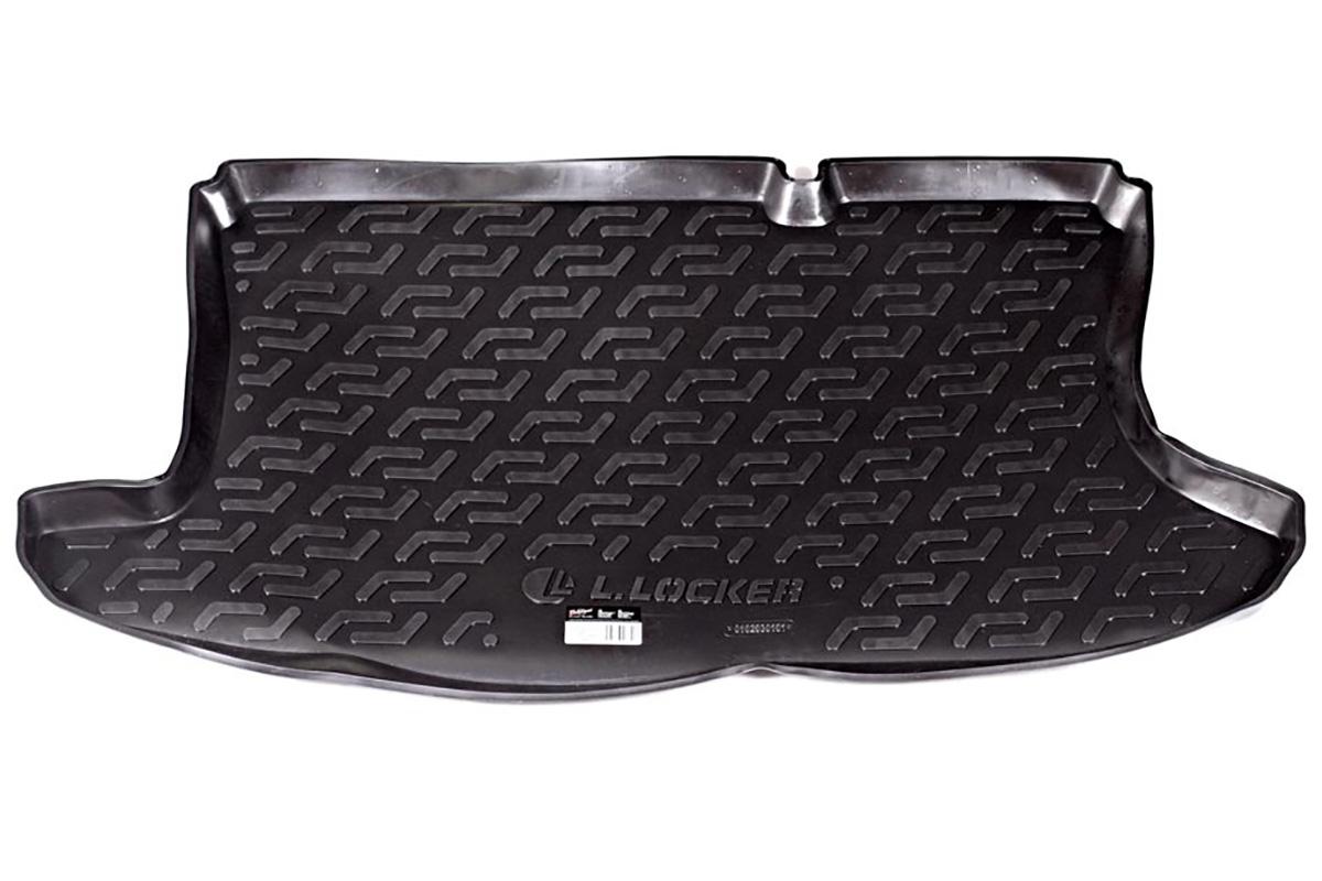 Коврик автомобильный L.Locker для Ford Fusion hb (02-), в багажник0102030101Коврики L.Locker производятся индивидуально для каждой модели автомобиля из современного и экологически чистого материала, точно повторяют геометрию пола автомобиля, имеют высокий борт от 4 см до 6 см, обладают повышенной износоустойчивостью, антискользящими свойствами, лишены резкого запаха, сохраняют свои потребительские свойства в широком диапазоне температур (от -45°С до +80°С).