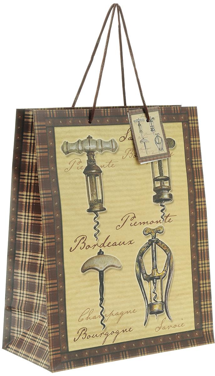 Пакет подарочный Феникс-Презент Штопоры, 26 х 32,4 х 12,7 см феникс презент