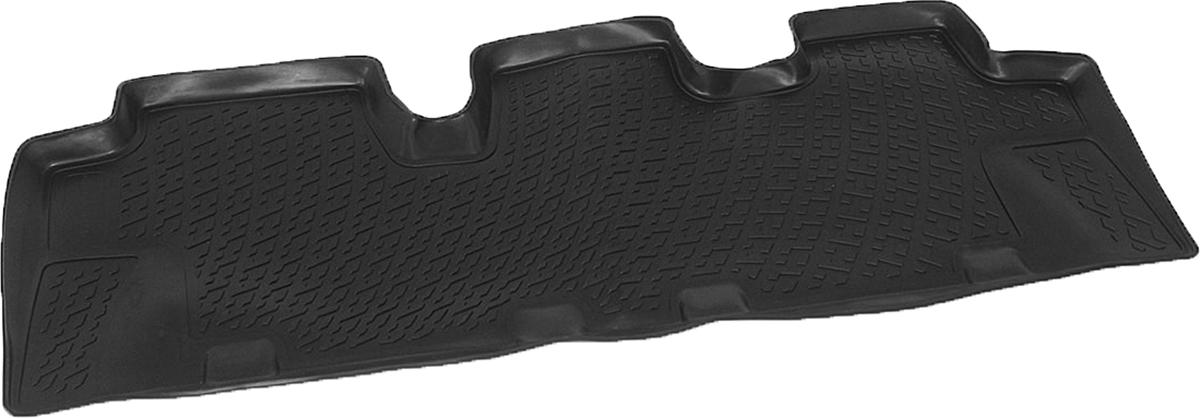 Коврики в салон автомобиля L.Locker, для Hyundai Santa Fe II (06-), третий ряд сидений0204070401Коврики L.Locker производятся индивидуально для каждой модели автомобиля из современного и экологически чистого материала. Изделия точно повторяют геометрию пола автомобиля, имеют высокий борт, обладают повышенной износоустойчивостью, антискользящими свойствами, лишены резкого запаха и сохраняют свои потребительские свойства в широком диапазоне температур (от -50°С до +80°С). Рисунок ковриков специально спроектирован для уменьшения скольжения ног водителя и имеет достаточную глубину, препятствующую свободному перемещению жидкости и грязи на поверхности. Одновременно с этим рисунок не создает дискомфорта при вождении автомобиля. Водительский ковер с предустановленными креплениями фиксируется на штатные места в полу салона автомобиля. Новая технология системы креплений герметична, не дает влаге и грязи проникать внутрь через крепеж на обшивку пола.