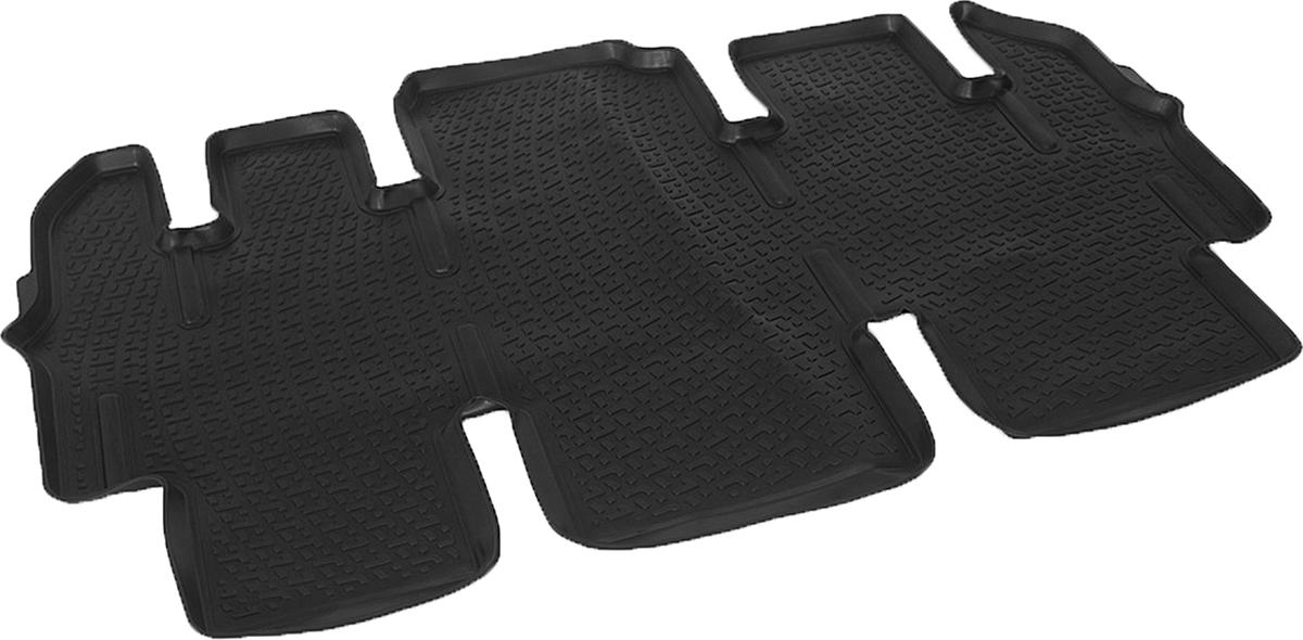 Коврики в салон автомобиля L.Locker, для Hyundai Starex (07-), третий ряд сидений0204160401Коврики L.Locker производятся индивидуально для каждой модели автомобиля из современного и экологически чистого материала. Изделия точно повторяют геометрию пола автомобиля, имеют высокий борт, обладают повышенной износоустойчивостью, антискользящими свойствами, лишены резкого запаха и сохраняют свои потребительские свойства в широком диапазоне температур (от -50°С до +80°С). Рисунок ковриков специально спроектирован для уменьшения скольжения ног водителя и имеет достаточную глубину, препятствующую свободному перемещению жидкости и грязи на поверхности. Одновременно с этим рисунок не создает дискомфорта при вождении автомобиля. Водительский ковер с предустановленными креплениями фиксируется на штатные места в полу салона автомобиля. Новая технология системы креплений герметична, не дает влаге и грязи проникать внутрь через крепеж на обшивку пола.