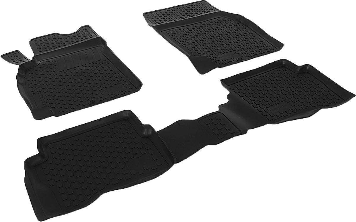 Набор автомобильных ковриков L.Locker для Nissan Almera Classic (06-), в салон, 4 шт автомобильный коврик seintex 83302 для nissan almera classic
