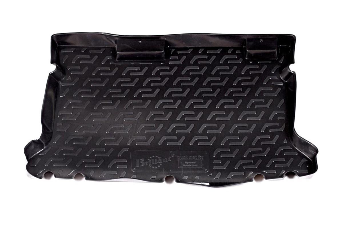 Коврик автомобильный L.Locker для Hyundai Matrix (01-), в багажник0104060101Коврики L.Locker производятся индивидуально для каждой модели автомобиля из современного и экологически чистого материала, точно повторяют геометрию пола автомобиля, имеют высокий борт от 4 см до 6 см, обладают повышенной износоустойчивостью, антискользящими свойствами, лишены резкого запаха, сохраняют свои потребительские свойства в широком диапазоне температур (от -50°С до +80°С).