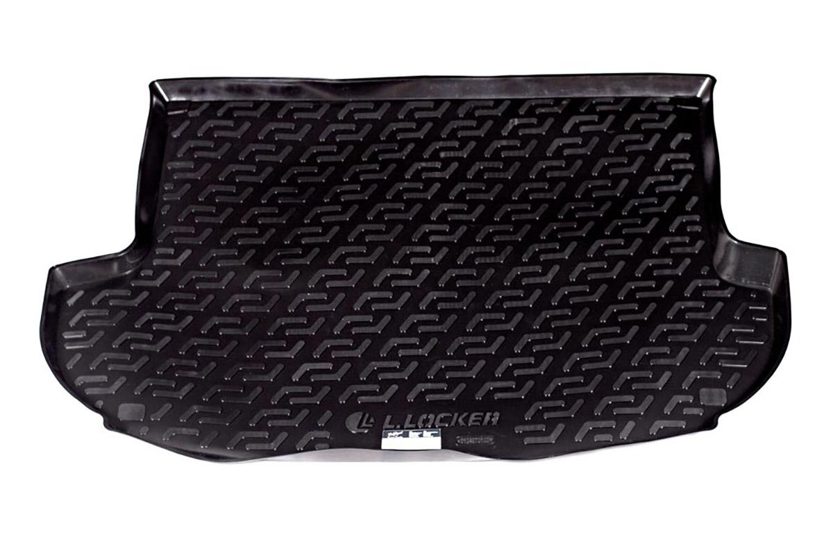 Коврик автомобильный L.Locker для Hyundai Santa Fe (06-), в багажник0104070101Коврики L.Locker производятся индивидуально для каждой модели автомобиля из современного и экологически чистого материала, точно повторяют геометрию пола автомобиля, имеют высокий борт от 4 см до 6 см, обладают повышенной износоустойчивостью, антискользящими свойствами, лишены резкого запаха, сохраняют свои потребительские свойства в широком диапазоне температур (от -50°С до +80°С).