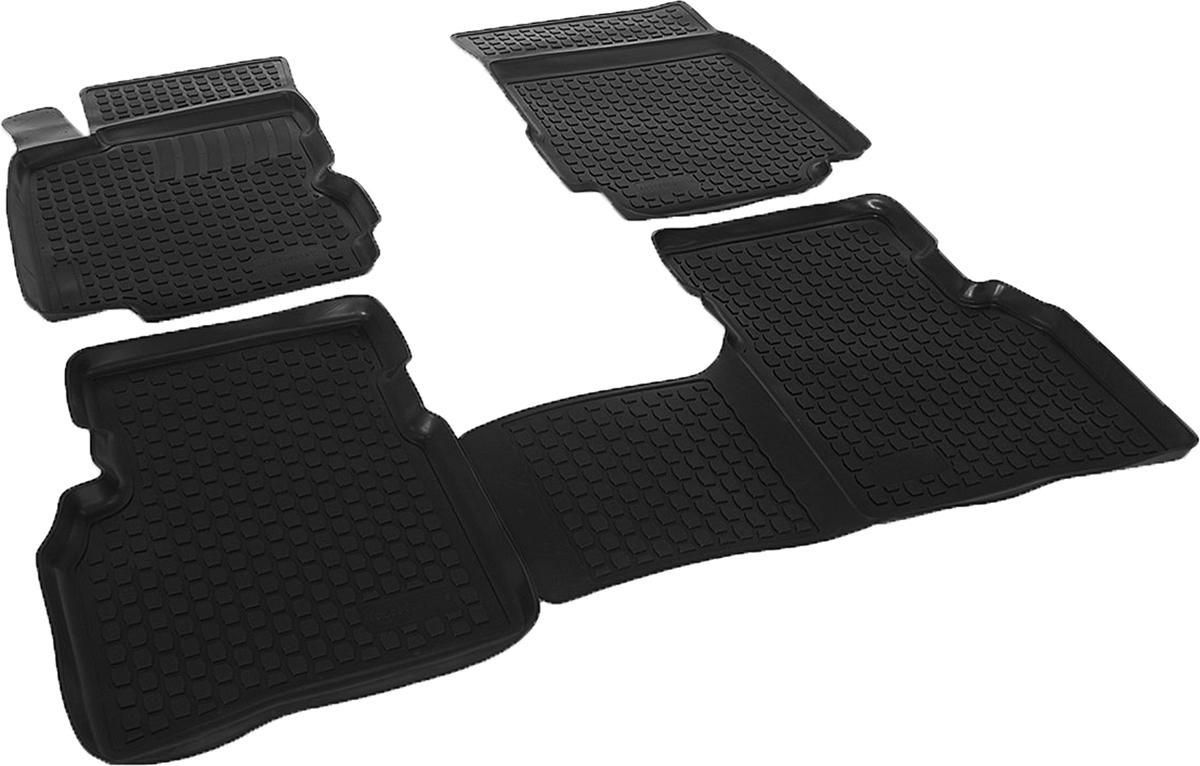 Коврики в салон автомобиля L.Locker, для Nissan Note, цвет: черный, 3 шт0205060101Коврики L.Locker производятся индивидуально для каждой модели автомобиля из современного и экологически чистого материала, точно повторяют геометрию пола автомобиля, имеют высокий борт от 3 см до 4 см. Обладают повышенной износоустойчивостью, антискользящими свойствами, лишены резкого запаха, сохраняют свои потребительские свойства в широком диапазоне температур (от -50°С до +80°С). Коврики предназначены специально для автомобиля Nissan Note.