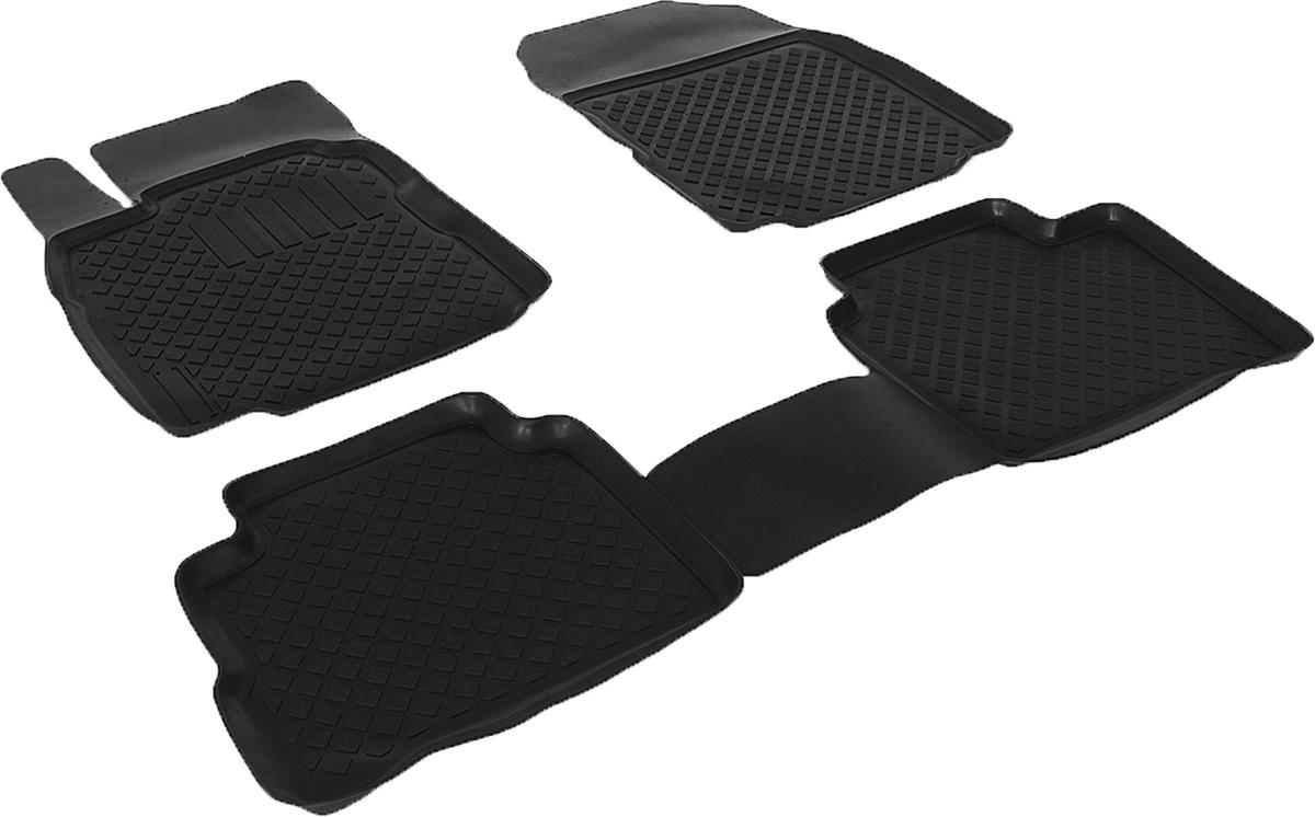 Коврики в салон автомобиля L.Locker, для Nissan Tiida, цвет: черный, 3 шт0205100101Коврики L.Locker производятся индивидуально для каждой модели автомобиля из современного и экологически чистого материала, точно повторяют геометрию пола автомобиля, имеют высокий борт от 3 см до 4 см. Обладают повышенной износоустойчивостью, антискользящими свойствами, лишены резкого запаха, сохраняют свои потребительские свойства в широком диапазоне температур (от -50°С до +80°С). Коврики предназначены специально для автомобиля Nissan Tiida.