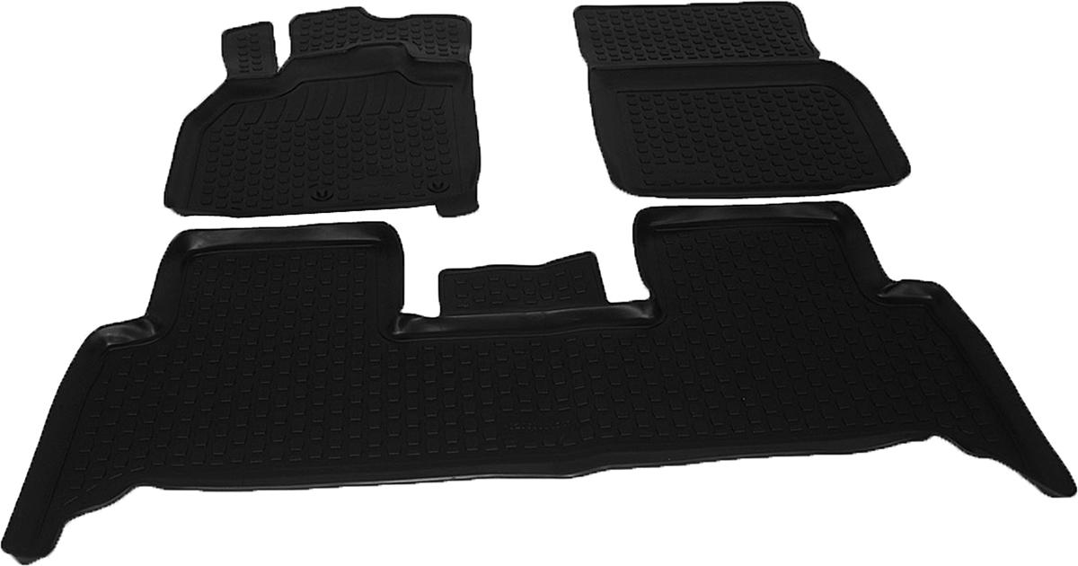Коврики в салон автомобиля L.Locker, для Renault Scenic, цвет: черный, 3 шт0206080101Коврики L.Locker производятся индивидуально для каждой модели автомобиля из современного и экологически чистого материала, точно повторяют геометрию пола автомобиля, имеют высокий борт от 3 см до 4 см. Обладают повышенной износоустойчивостью, антискользящими свойствами, лишены резкого запаха, сохраняют свои потребительские свойства в широком диапазоне температур (от -50°С до +80°С). Коврики предназначены специально для автомобиля Renault Scenic.