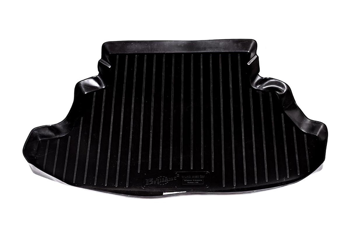 Коврик автомобильный L.Locker для Nissan Primera sd (-06), в багажник0105030101Коврики L.Locker производятся индивидуально для каждой модели автомобиля из современного и экологически чистого материала, точно повторяют геометрию пола автомобиля, имеют высокий борт от 4 см до 6 см, обладают повышенной износоустойчивостью, антискользящими свойствами, лишены резкого запаха, сохраняют свои потребительские свойства в широком диапазоне температур (от -50°С до +80°С).