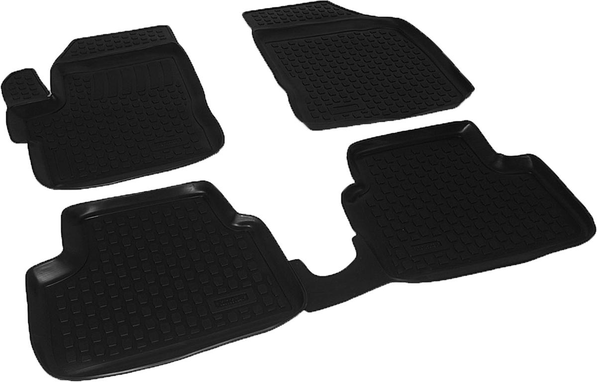 Коврики в салон автомобиля L.Locker, для Chevrolet Spark (05-), 3 шт0207050201Коврики L.Locker производятся индивидуально для каждой модели автомобиля из современного и экологически чистого материала. Изделия точно повторяют геометрию пола автомобиля, имеют высокий борт, обладают повышенной износоустойчивостью, антискользящими свойствами, лишены резкого запаха и сохраняют свои потребительские свойства в широком диапазоне температур (от -50°С до +80°С). Рисунок ковриков специально спроектирован для уменьшения скольжения ног водителя и имеет достаточную глубину, препятствующую свободному перемещению жидкости и грязи на поверхности. Одновременно с этим рисунок не создает дискомфорта при вождении автомобиля. Водительский ковер с предустановленными креплениями фиксируется на штатные места в полу салона автомобиля. Новая технология системы креплений герметична, не дает влаге и грязи проникать внутрь через крепеж на обшивку пола.