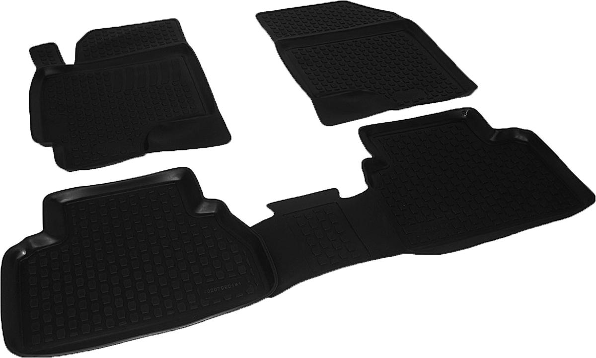 Набор автомобильных ковриков L.Locker для Chevrolet Epica (06-), в салон, 4 шт накладка на задний бампер chevrolet epica 2006