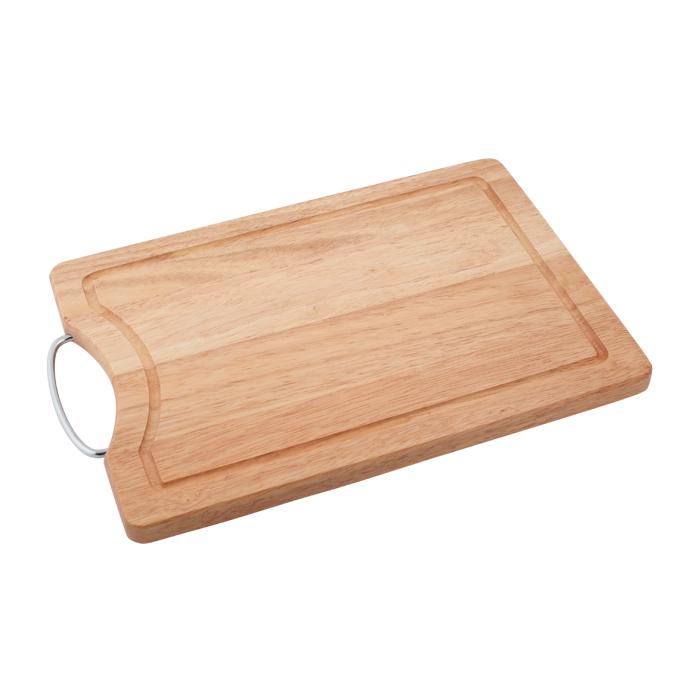 Доска разделочная, 34 х 24 х 1,8 см. 28AR-100328AR-1003Прямоугольная разделочная доскаиз дерева с металлической ручкой обладает рядом преимуществ, которые можно оценить уже при первом использовании.Доска отличается долговечностью, большой прочностью и высокой плотностью, легко моется, не впитывает запахи и обладает водоотталкивающими свойствами, при длительном использовании не деформируется.Разделочная доска выполнена на высоком уровне, она удовлетворит все запросы самой требовательной хозяйки!Рекомендации:очищать сразу после использования;просушивать после мытья;не использовать при высокой температуре. Характеристики:Страна: Германия. Материал:дерево. Размер: 34 х 24 х 1,8 см.Артикул:28AR-1003.