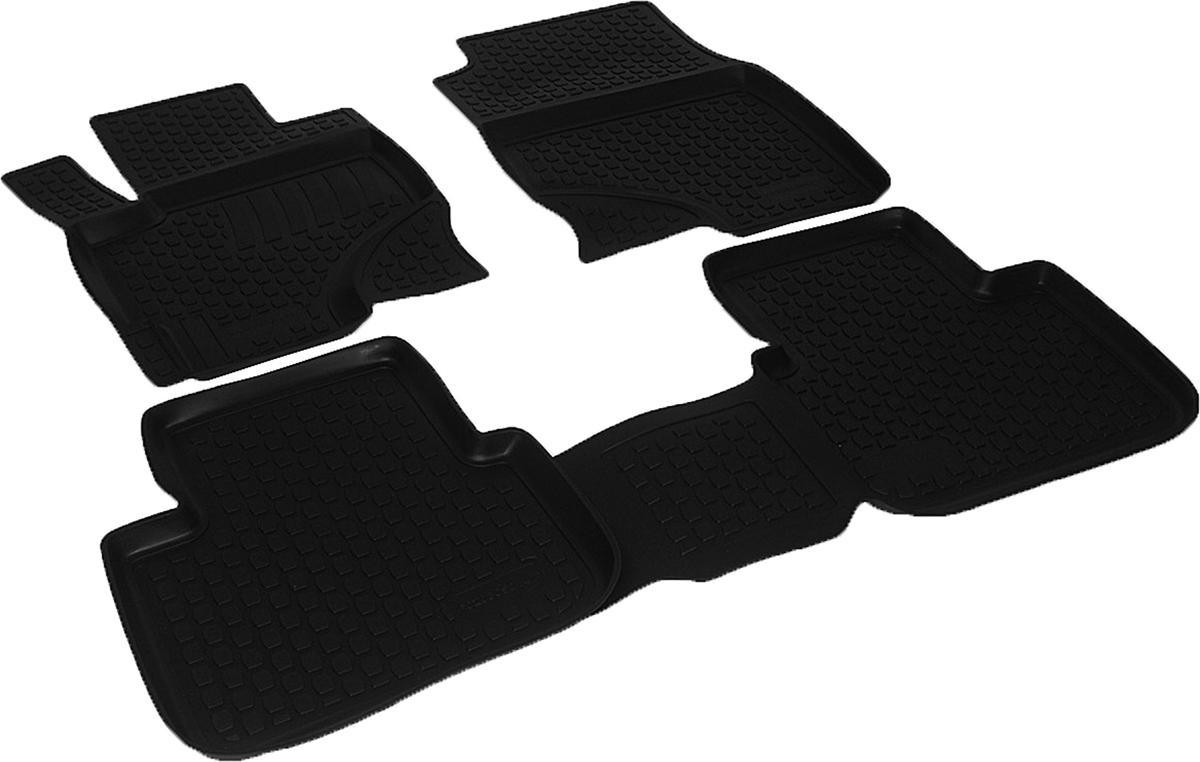 Набор автомобильных ковриков L.Locker для Mitsubishi Colt (04-), в салон, 4 шт0208050101Коврики L.Locker производятся индивидуально для каждой модели автомобиля из современного и экологически чистого материала, точно повторяют геометрию пола автомобиля, имеют высокий борт от 3 см до 4 см, обладают повышенной износоустойчивостью, антискользящими свойствами, лишены резкого запаха, сохраняют свои потребительские свойства в широком диапазоне температур (от -50°С до +80°С).