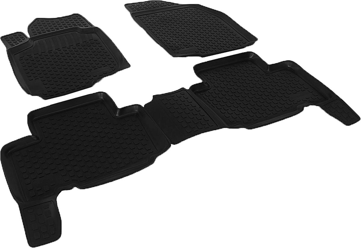 Коврики в салон автомобиля L.Locker, для Toyota RAV4, цвет: черный, 3 шт0209040301Коврики L.Locker производятся индивидуально для каждой модели автомобиля из современного и экологически чистого материала, точно повторяют геометрию пола автомобиля, имеют высокий борт от 3 см до 4 см. Обладают повышенной износоустойчивостью, антискользящими свойствами, лишены резкого запаха, сохраняют свои потребительские свойства в широком диапазоне температур (от -50°С до +80°С). Коврики предназначены специально для автомобиля Toyota RAV4.