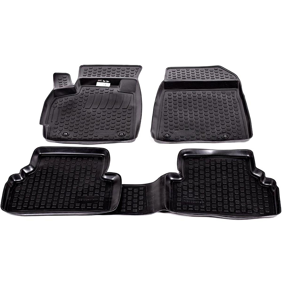 Набор автомобильных ковриков L.Locker для Mazda CX-7 (06-), в салон, 4 шт0210040101Коврики L.Locker производятся индивидуально для каждой модели автомобиля из современного и экологически чистого материала, точно повторяют геометрию пола автомобиля, имеют высокий борт от 3 см до 4 см, обладают повышенной износоустойчивостью, антискользящими свойствами, лишены резкого запаха, сохраняют свои потребительские свойства в широком диапазоне температур (от -50°С до +80°С).