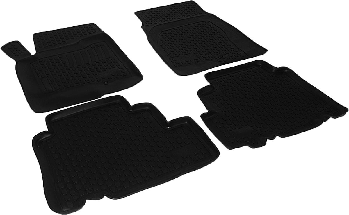 Коврики в салон автомобиля L.Locker, для Opel Antara (06-), 4 шт0211060101Коврики L.Locker производятся индивидуально для каждой модели автомобиля из современного и экологически чистого материала. Изделия точно повторяют геометрию пола автомобиля, имеют высокий борт, обладают повышенной износоустойчивостью, антискользящими свойствами, лишены резкого запаха и сохраняют свои потребительские свойства в широком диапазоне температур (от -50°С до +80°С). Рисунок ковриков специально спроектирован для уменьшения скольжения ног водителя и имеет достаточную глубину, препятствующую свободному перемещению жидкости и грязи на поверхности. Одновременно с этим рисунок не создает дискомфорта при вождении автомобиля. Водительский ковер с предустановленными креплениями фиксируется на штатные места в полу салона автомобиля. Новая технология системы креплений герметична, не дает влаге и грязи проникать внутрь через крепеж на обшивку пола.