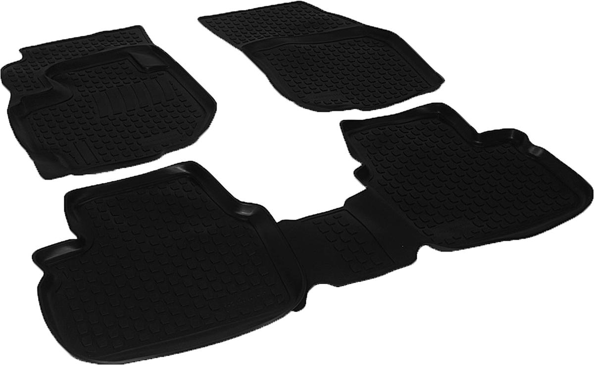 Коврики в салон автомобиля L.Locker, для Suzuki Liana, цвет: черный, 3 шт0212010101Коврики L.Locker производятся индивидуально для каждой модели автомобиля из современного и экологически чистого материала, точно повторяют геометрию пола автомобиля, имеют высокий борт от 3 см до 4 см. Обладают повышенной износоустойчивостью, антискользящими свойствами, лишены резкого запаха, сохраняют свои потребительские свойства в широком диапазоне температур (от -50°С до +80°С). Коврики предназначены специально для автомобиля Suzuki Liana.