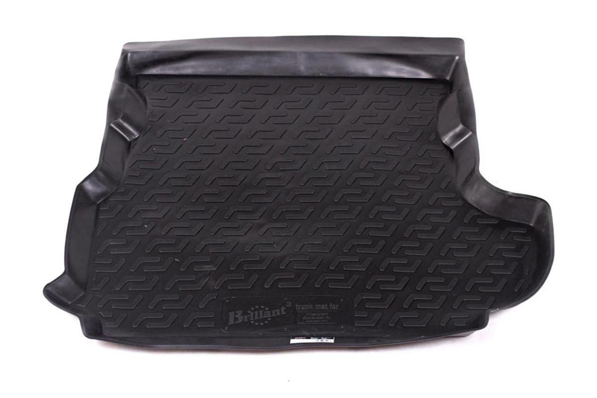 Коврик автомобильный L.Locker для Mitsubishi Outlander XL сабвуфер (07-), в багажник0108010301Коврики L.Locker производятся индивидуально для каждой модели автомобиля из современного и экологически чистого материала, точно повторяют геометрию пола автомобиля, имеют высокий борт от 4 см до 6 см, обладают повышенной износоустойчивостью, антискользящими свойствами, лишены резкого запаха, сохраняют свои потребительские свойства в широком диапазоне температур (от -50°С до +80°С).