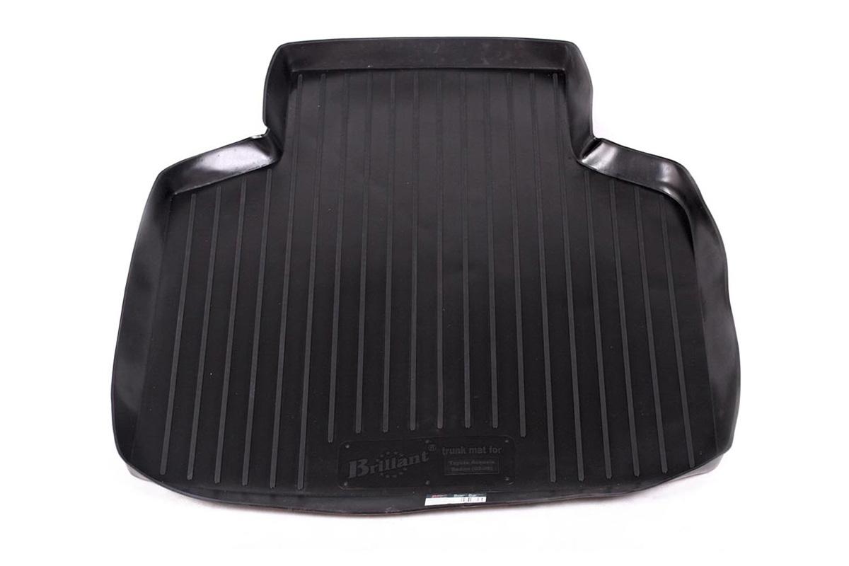 Коврик автомобильный L.Locker для Toyota Avensis sd (02-08), в багажник0109010101Коврики L.Locker производятся индивидуально для каждой модели автомобиля из современного и экологически чистого материала, точно повторяют геометрию пола автомобиля, имеют высокий борт от 4 см до 6 см, обладают повышенной износоустойчивостью, антискользящими свойствами, лишены резкого запаха, сохраняют свои потребительские свойства в широком диапазоне температур (от -50°С до +80°С).
