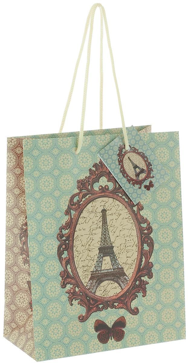 Пакет подарочный Феникс-Презент Французский, 17,8 х 22,9 х 9,8 см феникс презент