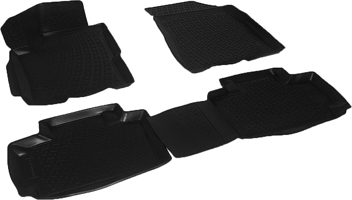 Коврики в салон автомобиля L.Locker, для Chery Very (11-)0214100101Коврики L.Locker производятся индивидуально для каждой модели автомобиля из современного и экологически чистого материала. Изделия точно повторяют геометрию пола автомобиля, имеют высокий борт, обладают повышенной износоустойчивостью, антискользящими свойствами, лишены резкого запаха и сохраняют свои потребительские свойства в широком диапазоне температур (от -50°С до +80°С). Рисунок ковриков специально спроектирован для уменьшения скольжения ног водителя и имеет достаточную глубину, препятствующую свободному перемещению жидкости и грязи на поверхности. Одновременно с этим рисунок не создает дискомфорта при вождении автомобиля. Водительский ковер с предустановленными креплениями фиксируется на штатные места в полу салона автомобиля. Новая технология системы креплений герметична, не дает влаге и грязи проникать внутрь через крепеж на обшивку пола.