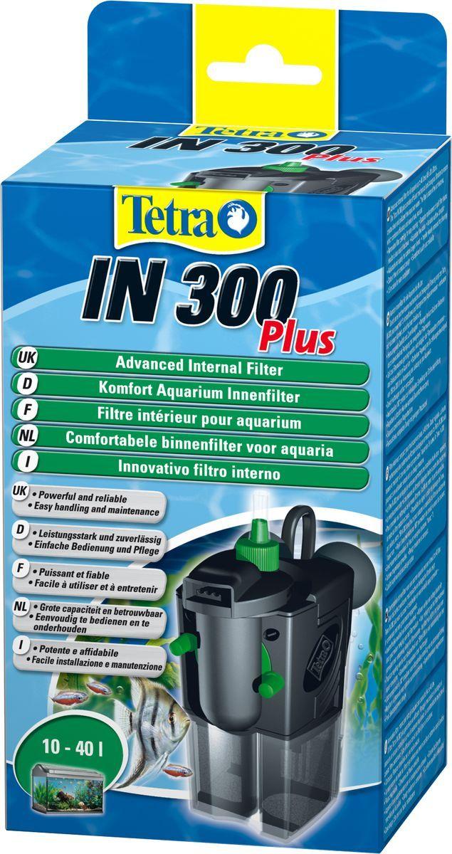 Фильтр внутренний Tetra IN 300 Plus, для аквариумов до 40 л174870Внутренний фильтр TetraTec IN300 для аквариумов малой вместимости (до 40 л)Мощный и удобный внутренний фильтр для механической, биологической и химической очистки воды в аквариуме.•фильтр имеет 2 камеры очистки;•потери полезных бактерий могут быть снижены за счет очистки лишь одной камеры фильтра, одна губка фильтра всегда остается в камере;•при очистке фильтра сам прибор остается в аквариуме;•новая конструкция устройства позволяет вынимать наполнители фильтра, не дотрагиваясь при этом руками до фильтрационной губки;•оборот воды настраивается индивидуально для каждого аквариума;•вращающиеся на 180 градусов выходные сопла;•дополнительный забор воздуха с помощью регулируемой системы Venturi;•красивый и компактный дизайн, не занимает много места;•стабильные присоски, позволяющие фильтру быть прочно прикрепленным к поверхности;•биологическая губка и активированный уголь доступны как запасные части;•сертификаты контроля качества TUV / GS, сертификат качества CE;•2 года гарантии.