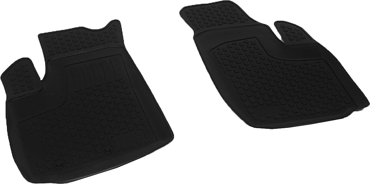 Коврики в салон автомобиля L.Locker, для Fiat Doblo Cargo (00-), передние, 2 шт0215050201Коврики L.Locker производятся индивидуально для каждой модели автомобиля из современного и экологически чистого материала. Изделия точно повторяют геометрию пола автомобиля, имеют высокий борт, обладают повышенной износоустойчивостью, антискользящими свойствами, лишены резкого запаха и сохраняют свои потребительские свойства в широком диапазоне температур (от -50°С до +80°С). Рисунок ковриков специально спроектирован для уменьшения скольжения ног водителя и имеет достаточную глубину, препятствующую свободному перемещению жидкости и грязи на поверхности. Одновременно с этим рисунок не создает дискомфорта при вождении автомобиля. Водительский ковер с предустановленными креплениями фиксируется на штатные места в полу салона автомобиля. Новая технология системы креплений герметична, не дает влаге и грязи проникать внутрь через крепеж на обшивку пола.