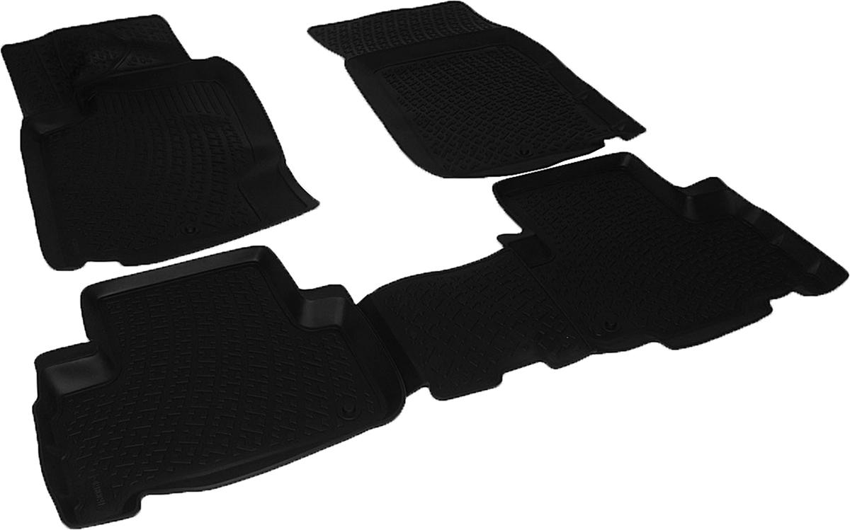 Коврики в салон автомобиля L.Locker, для SangYong Rexton III (12-)218030201Коврики L.Locker производятся индивидуально для каждой модели автомобиля из современного и экологически чистого материала. Изделия точно повторяют геометрию пола автомобиля, имеют высокий борт, обладают повышенной износоустойчивостью, антискользящими свойствами, лишены резкого запаха и сохраняют свои потребительские свойства в широком диапазоне температур (от -50°С до +80°С). Рисунок ковриков специально спроектирован для уменьшения скольжения ног водителя и имеет достаточную глубину, препятствующую свободному перемещению жидкости и грязи на поверхности. Одновременно с этим рисунок не создает дискомфорта при вождении автомобиля. Водительский ковер с предустановленными креплениями фиксируется на штатные места в полу салона автомобиля. Новая технология системы креплений герметична, не дает влаге и грязи проникать внутрь через крепеж на обшивку пола.
