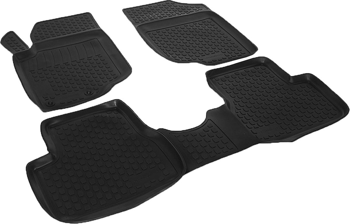 Коврики в салон автомобиля L.Locker, для Peugeot 207 цвет: черный, 3 шт0220050101Коврики L.Locker производятся индивидуально для каждой модели автомобиля из современного и экологически чистого материала, точно повторяют геометрию пола автомобиля, имеют высокий борт от 3 см до 4 см. Обладают повышенной износоустойчивостью, антискользящими свойствами, лишены резкого запаха, сохраняют свои потребительские свойства в широком диапазоне температур (от -50°С до +80°С). Коврики предназначены специально для автомобиля Peugeot 207.