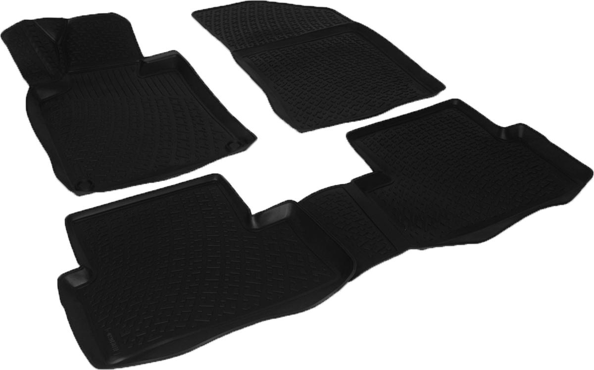 Коврики в салон автомобиля L.Locker, для Peugeot 508 (14-)0220150101Коврики L.Locker производятся индивидуально для каждой модели автомобиля из современного и экологически чистого материала. Изделия точно повторяют геометрию пола автомобиля, имеют высокий борт, обладают повышенной износоустойчивостью, антискользящими свойствами, лишены резкого запаха и сохраняют свои потребительские свойства в широком диапазоне температур (от -50°С до +80°С). Рисунок ковриков специально спроектирован для уменьшения скольжения ног водителя и имеет достаточную глубину, препятствующую свободному перемещению жидкости и грязи на поверхности. Одновременно с этим рисунок не создает дискомфорта при вождении автомобиля. Водительский ковер с предустановленными креплениями фиксируется на штатные места в полу салона автомобиля. Новая технология системы креплений герметична, не дает влаге и грязи проникать внутрь через крепеж на обшивку пола.