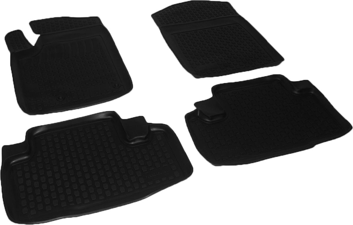 Коврики в салон автомобиля L.Locker, для Citroen Berlingo (96-), 4 шт0222050101Коврики L.Locker производятся индивидуально для каждой модели автомобиля из современного и экологически чистого материала. Изделия точно повторяют геометрию пола автомобиля, имеют высокий борт, обладают повышенной износоустойчивостью, антискользящими свойствами, лишены резкого запаха и сохраняют свои потребительские свойства в широком диапазоне температур (от -50°С до +80°С). Рисунок ковриков специально спроектирован для уменьшения скольжения ног водителя и имеет достаточную глубину, препятствующую свободному перемещению жидкости и грязи на поверхности. Одновременно с этим рисунок не создает дискомфорта при вождении автомобиля. Водительский ковер с предустановленными креплениями фиксируется на штатные места в полу салона автомобиля. Новая технология системы креплений герметична, не дает влаге и грязи проникать внутрь через крепеж на обшивку пола.