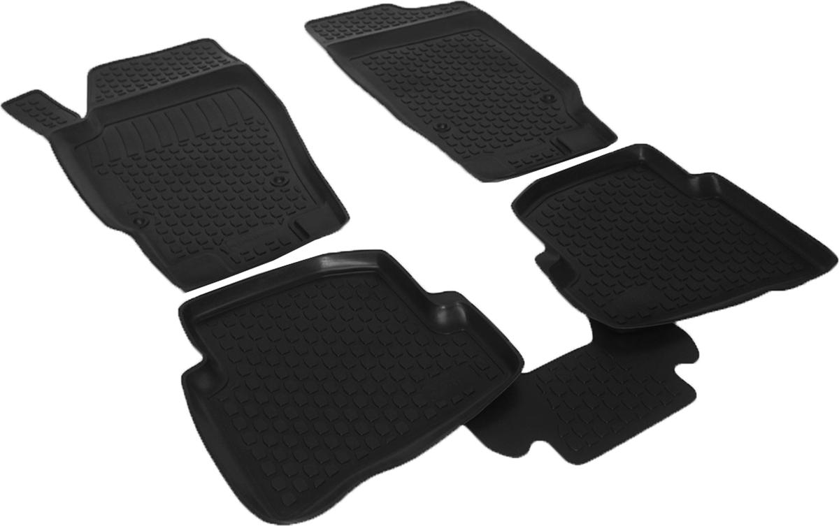 Коврики в салон автомобиля L.Locker, для Seat Ibiza IV (08-), 4 шт0223030101Коврики L.Locker производятся индивидуально для каждой модели автомобиля из современного и экологически чистого материала. Изделия точно повторяют геометрию пола автомобиля, имеют высокий борт, обладают повышенной износоустойчивостью, антискользящими свойствами, лишены резкого запаха и сохраняют свои потребительские свойства в широком диапазоне температур (от -50°С до +80°С). Рисунок ковриков специально спроектирован для уменьшения скольжения ног водителя и имеет достаточную глубину, препятствующую свободному перемещению жидкости и грязи на поверхности. Одновременно с этим рисунок не создает дискомфорта при вождении автомобиля. Водительский ковер с предустановленными креплениями фиксируется на штатные места в полу салона автомобиля. Новая технология системы креплений герметична, не дает влаге и грязи проникать внутрь через крепеж на обшивку пола.