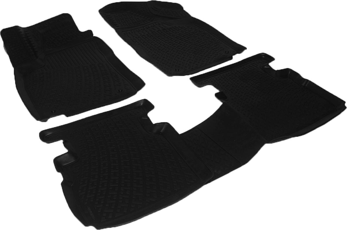 Коврики в салон автомобиля L.Locker, для MG 5 hb (12-)0224050101Коврики L.Locker производятся индивидуально для каждой модели автомобиля из современного и экологически чистого материала. Изделия точно повторяют геометрию пола автомобиля, имеют высокий борт, обладают повышенной износоустойчивостью, антискользящими свойствами, лишены резкого запаха и сохраняют свои потребительские свойства в широком диапазоне температур (от -50°С до +80°С). Рисунок ковриков специально спроектирован для уменьшения скольжения ног водителя и имеет достаточную глубину, препятствующую свободному перемещению жидкости и грязи на поверхности. Одновременно с этим рисунок не создает дискомфорта при вождении автомобиля. Водительский ковер с предустановленными креплениями фиксируется на штатные места в полу салона автомобиля. Новая технология системы креплений герметична, не дает влаге и грязи проникать внутрь через крепеж на обшивку пола.