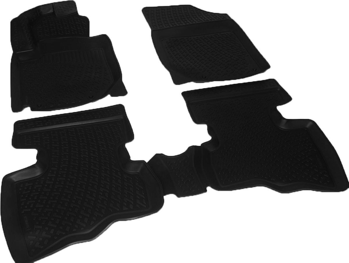 Коврики в салон автомобиля L.Locker, для Geely LC Cross (12-)0225050101Коврики L.Locker производятся индивидуально для каждой модели автомобиля из современного и экологически чистого материала. Изделия точно повторяют геометрию пола автомобиля, имеют высокий борт, обладают повышенной износоустойчивостью, антискользящими свойствами, лишены резкого запаха и сохраняют свои потребительские свойства в широком диапазоне температур (от -50°С до +80°С). Рисунок ковриков специально спроектирован для уменьшения скольжения ног водителя и имеет достаточную глубину, препятствующую свободному перемещению жидкости и грязи на поверхности. Одновременно с этим рисунок не создает дискомфорта при вождении автомобиля. Водительский ковер с предустановленными креплениями фиксируется на штатные места в полу салона автомобиля. Новая технология системы креплений герметична, не дает влаге и грязи проникать внутрь через крепеж на обшивку пола.