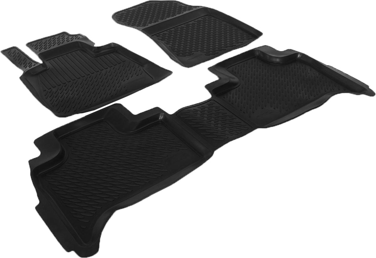 Набор автомобильных ковриков L.Locker для BMW X 5-53 (99-), в салон, 4 шт0229030101Коврики L.Locker производятся индивидуально для каждой модели автомобиля из современного и экологически чистого материала, точно повторяют геометрию пола автомобиля, имеют высокий борт от 3 см до 4 см, обладают повышенной износоустойчивостью, антискользящими свойствами, лишены резкого запаха, сохраняют свои потребительские свойства в широком диапазоне температур (от -50°С до +80°С).