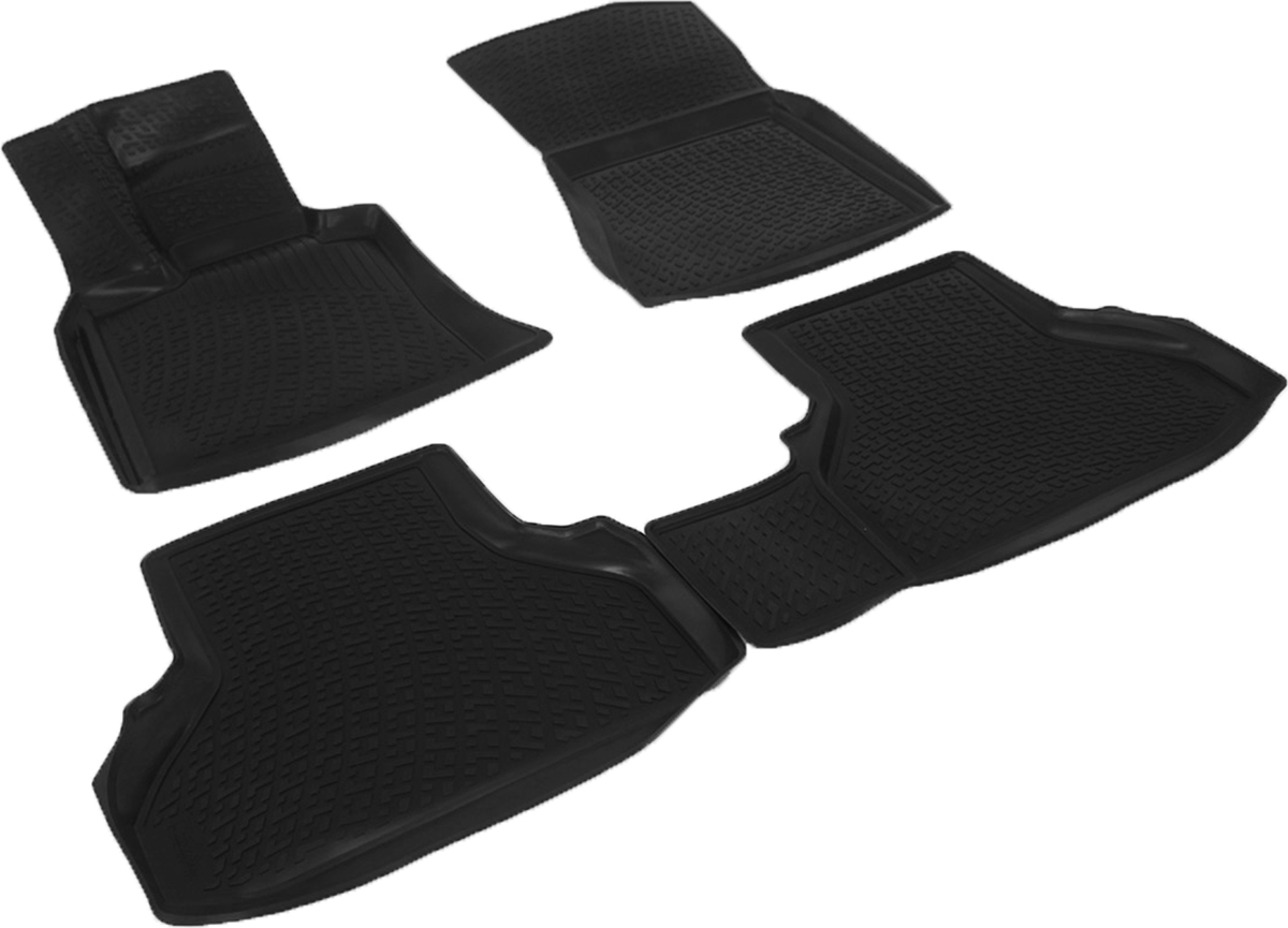 Коврики в салон автомобиля L.Locker, для BMW X6 E71 (07-)0229060101Коврики L.Locker производятся индивидуально для каждой модели автомобиля из современного и экологически чистого материала. Изделия точно повторяют геометрию пола автомобиля, имеют высокий борт, обладают повышенной износоустойчивостью, антискользящими свойствами, лишены резкого запаха и сохраняют свои потребительские свойства в широком диапазоне температур (от -50°С до +80°С). Рисунок ковриков специально спроектирован для уменьшения скольжения ног водителя и имеет достаточную глубину, препятствующую свободному перемещению жидкости и грязи на поверхности. Одновременно с этим рисунок не создает дискомфорта при вождении автомобиля. Водительский ковер с предустановленными креплениями фиксируется на штатные места в полу салона автомобиля. Новая технология системы креплений герметична, не дает влаге и грязи проникать внутрь через крепеж на обшивку пола.