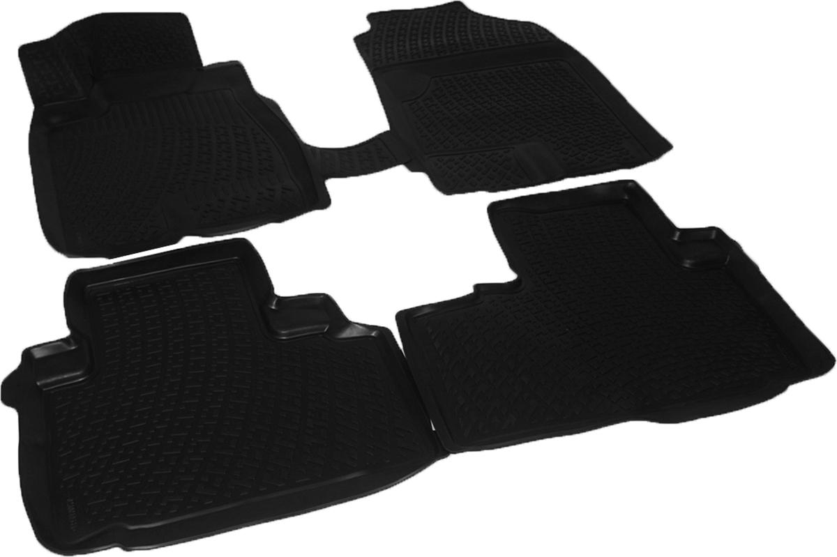 Коврики в салон автомобиля L.Locker, для Great Wall Hover H6 (12-)230010501Коврики L.Locker производятся индивидуально для каждой модели автомобиля из современного и экологически чистого материала. Изделия точно повторяют геометрию пола автомобиля, имеют высокий борт, обладают повышенной износоустойчивостью, антискользящими свойствами, лишены резкого запаха и сохраняют свои потребительские свойства в широком диапазоне температур (от -50°С до +80°С). Рисунок ковриков специально спроектирован для уменьшения скольжения ног водителя и имеет достаточную глубину, препятствующую свободному перемещению жидкости и грязи на поверхности. Одновременно с этим рисунок не создает дискомфорта при вождении автомобиля. Водительский ковер с предустановленными креплениями фиксируется на штатные места в полу салона автомобиля. Новая технология системы креплений герметична, не дает влаге и грязи проникать внутрь через крепеж на обшивку пола.