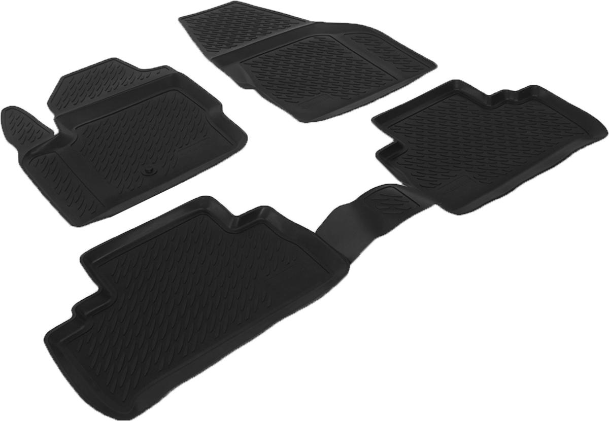 Коврики в салон автомобиля L.Locker, для Land Rover Freelander II (06-)0232010101Коврики L.Locker производятся индивидуально для каждой модели автомобиля из современного и экологически чистого материала. Изделия точно повторяют геометрию пола автомобиля, имеют высокий борт, обладают повышенной износоустойчивостью, антискользящими свойствами, лишены резкого запаха и сохраняют свои потребительские свойства в широком диапазоне температур (от -50°С до +80°С). Рисунок ковриков специально спроектирован для уменьшения скольжения ног водителя и имеет достаточную глубину, препятствующую свободному перемещению жидкости и грязи на поверхности. Одновременно с этим рисунок не создает дискомфорта при вождении автомобиля. Водительский ковер с предустановленными креплениями фиксируется на штатные места в полу салона автомобиля. Новая технология системы креплений герметична, не дает влаге и грязи проникать внутрь через крепеж на обшивку пола.